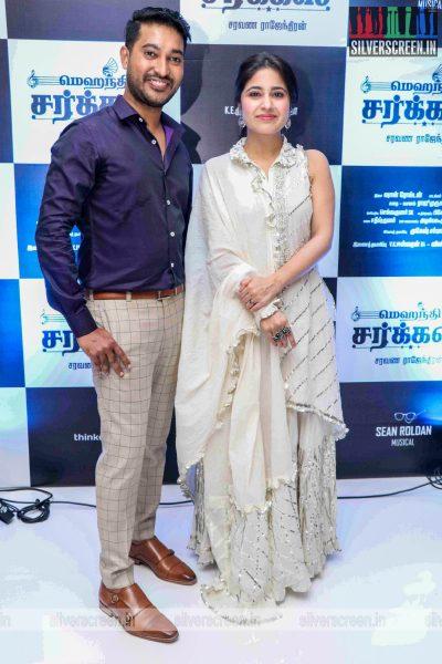 Madhampatty Rangaraj, Shweta Tripathi At The 'Mehandi Circus' Audio Launch