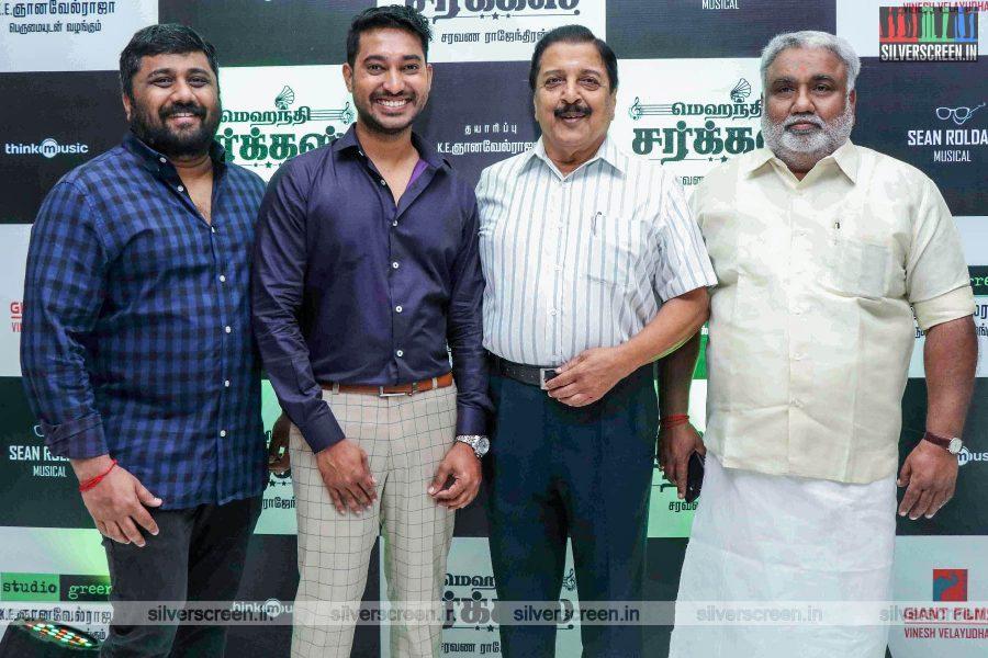 Sivakumar At The 'Mehandi Circus' Audio Launch