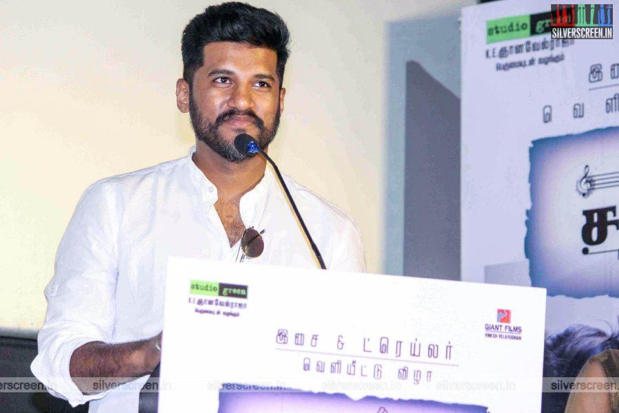 Vijay Yesudas At The 'Mehandi Circus' Audio Launch