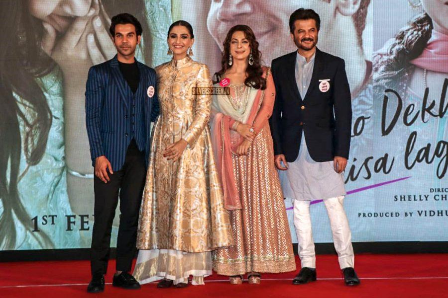 Sonam Kapoor Ahuja, Anil Kapoor, Rajkummar Rao, Juhi Chawla At The 'Ek Ladki Ko Dekha Toh Aisa Laga' Press Meet