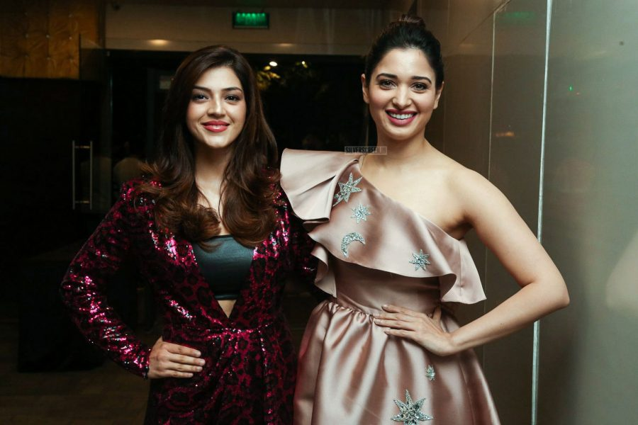 Tamannaah Bhatia, Mehreen Pirzada At The 'F2-Fun And Frustration' Audio Launch