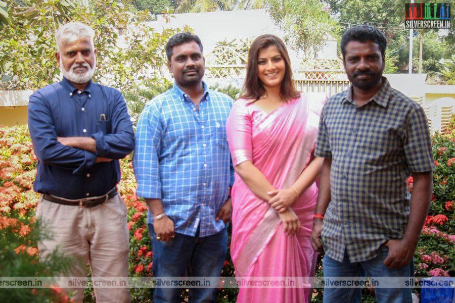 Varalaxmi SarathKumar At The 'Danny' Movie Launch