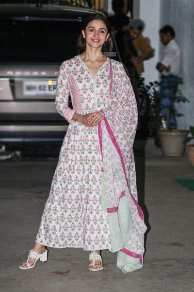 Alia Bhatt At The 'Uri' Premiere