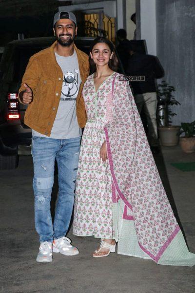Alia Bhatt, Vicky Kaushal At The 'Uri' Premiere