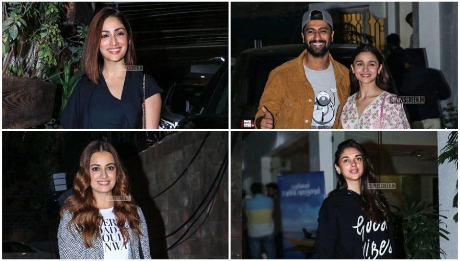 Celebrities At The 'Uri' Premiere