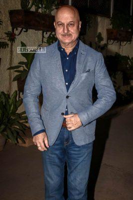 Anupam Kher At The 'Uri' Movie Premiere