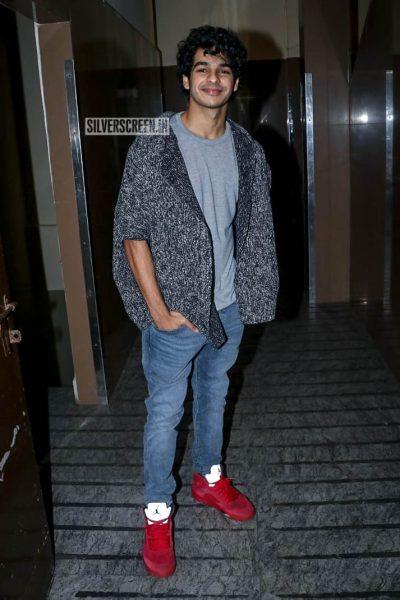 Ishaan Khattar At The 'Uri' Movie Premiere