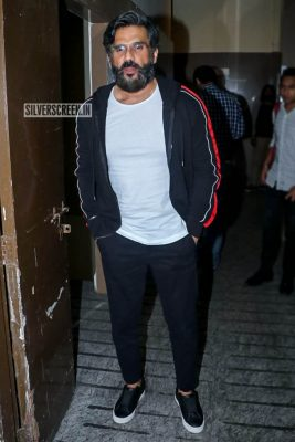 Suniel Shetty At The 'Uri' Movie Premiere