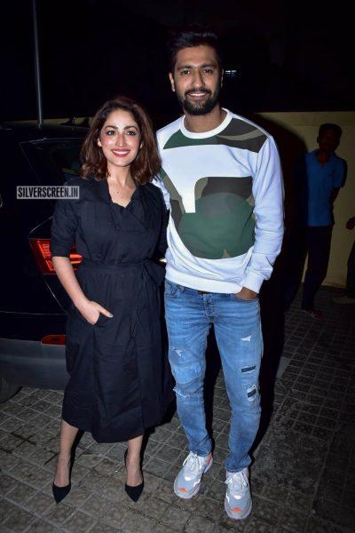 Vicky Kaushal, Yami Gautam At The 'Uri' Movie Premiere