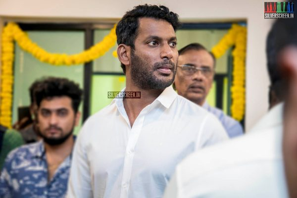Vishal At The Launch Of TFPC Microplex's - Mastering Unit