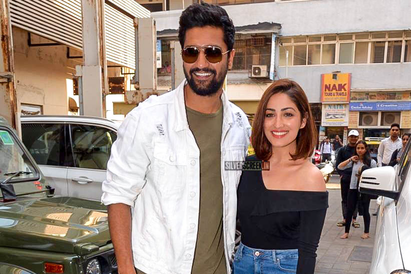 Yami Gautam, Vicky Kaushal Promote 'Uri'