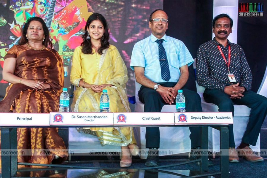 Aditi Balan At 'Hindotsav 2019' Event In Chennai
