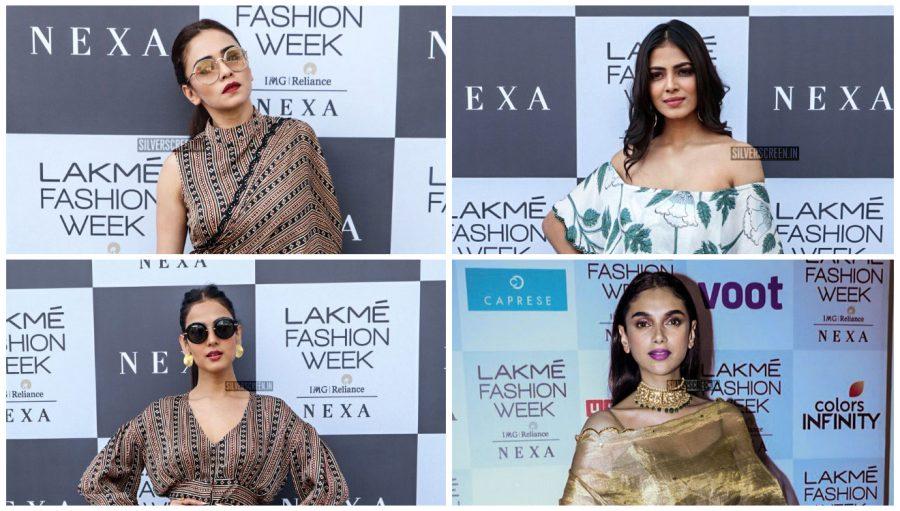 Celebrities At Lakme Fashion Week Summer/Resort 2019 – Day 5