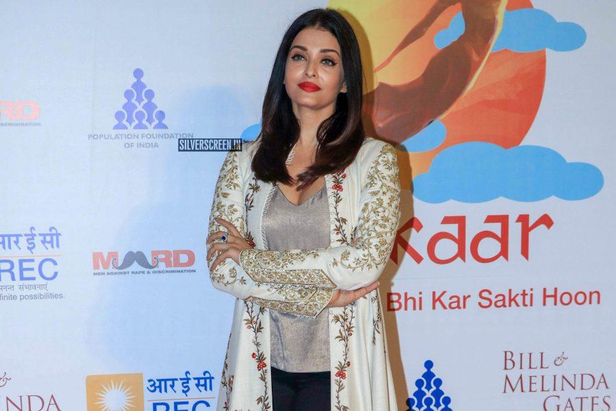 Aishwarya Rai At Population Foundation Of India's Event
