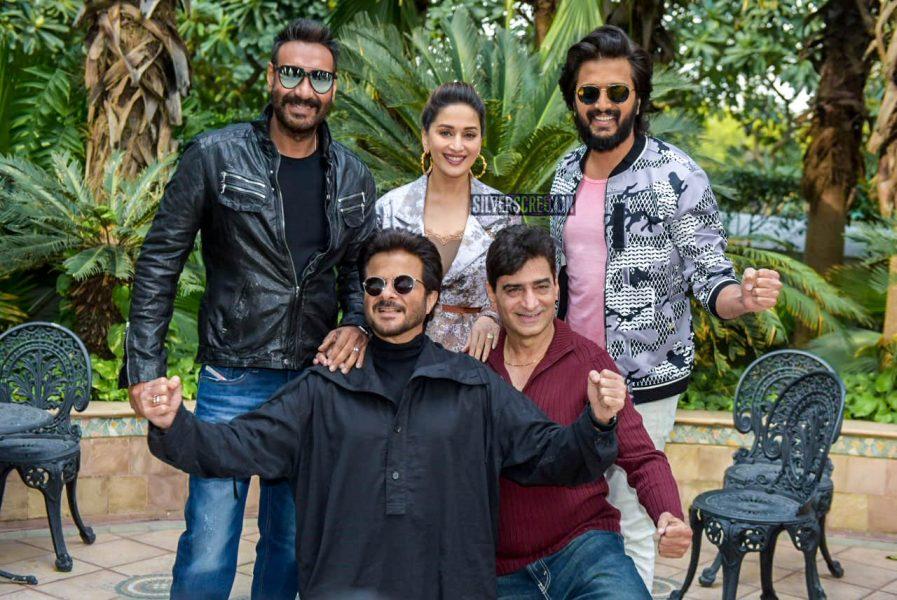 Ajay Devgn, Anil Kapoor, Madhuri Dixit Promote 'Total Dhamaal'