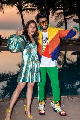 Alia Bhatt And Ranveer Singh Promote 'Gully Boy