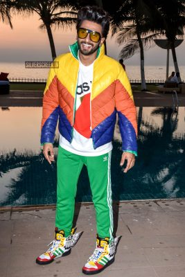 Ranveer Singh Promotes 'Gully Boy