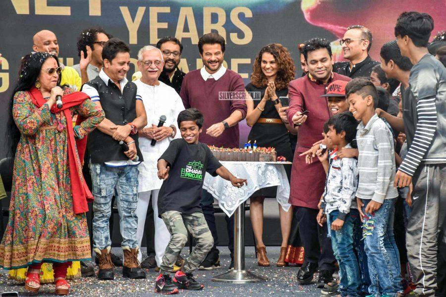 Anil Kapoor, AR Rahman At The '10 Years Of Slumdog Millionaire' Event