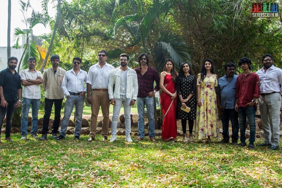 Celebrities At The 'Thadam' Press Meet