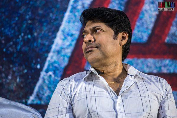 Magizh Thirumeni At The 'Thadam' Press Meet