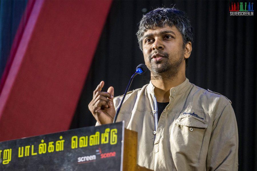Madhan Karky At The 'Thadam' Press Meet