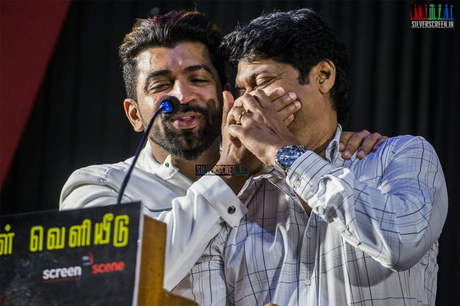 Arun Vijay, Magizh Thirumeni At The 'Thadam' Press Meet