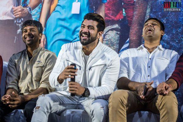 Arun Vijay, Magizh Thirumeni, Madhan Karky At The 'Thadam' Press Meet