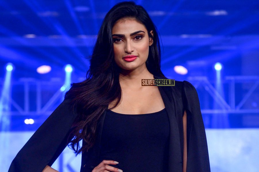 Athiya Shetty Walks The Ramp At A Product launch
