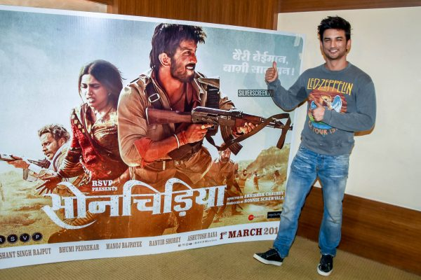 Sushant Singh Rajput At The 'Sonchiriya' Press Meet