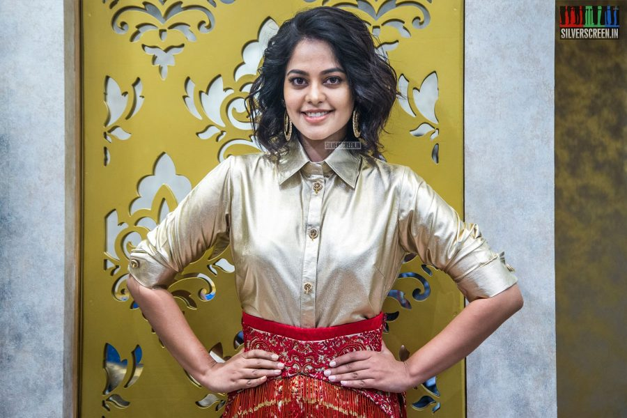 Bindu Madhavi At The Launch Of A Bridal Wear Collection In Chennai