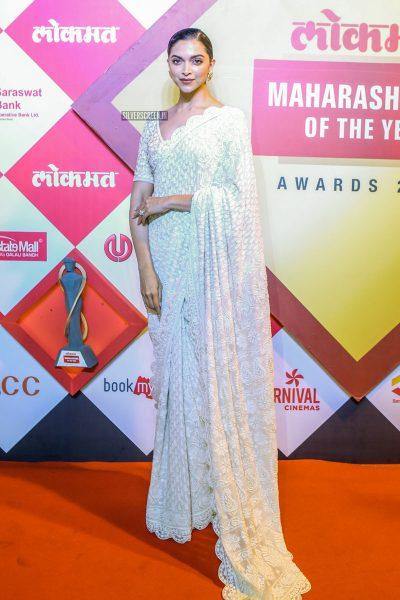 Deepika Padukone At Maharashtrian Of The Year Awards 2019