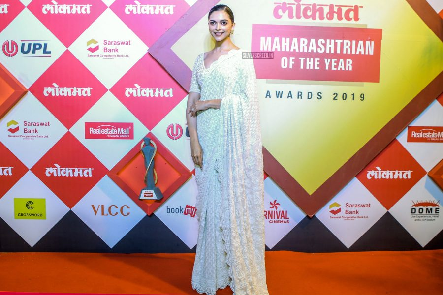 Deepika Padukone At Maharashtrian Of The Year Awards 2019