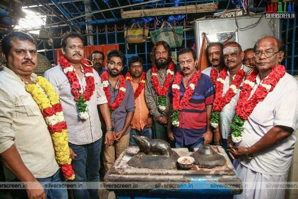 Ezhil-GV Prakash Kumar Untitled Movie Launch Photos