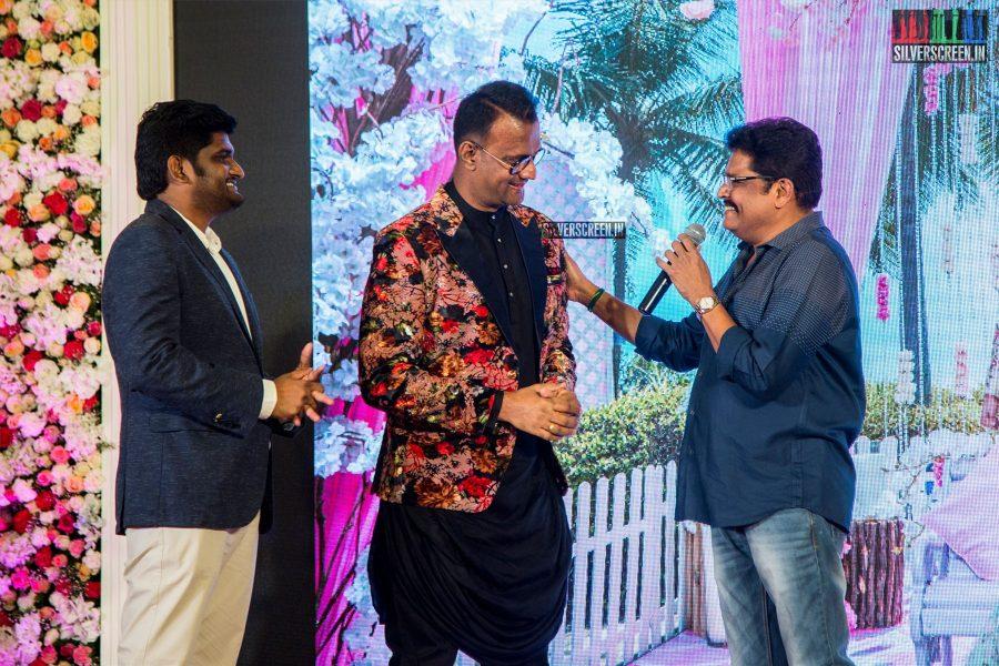 KS Ravikumar At Karthik Srinivasan Calendar Launch