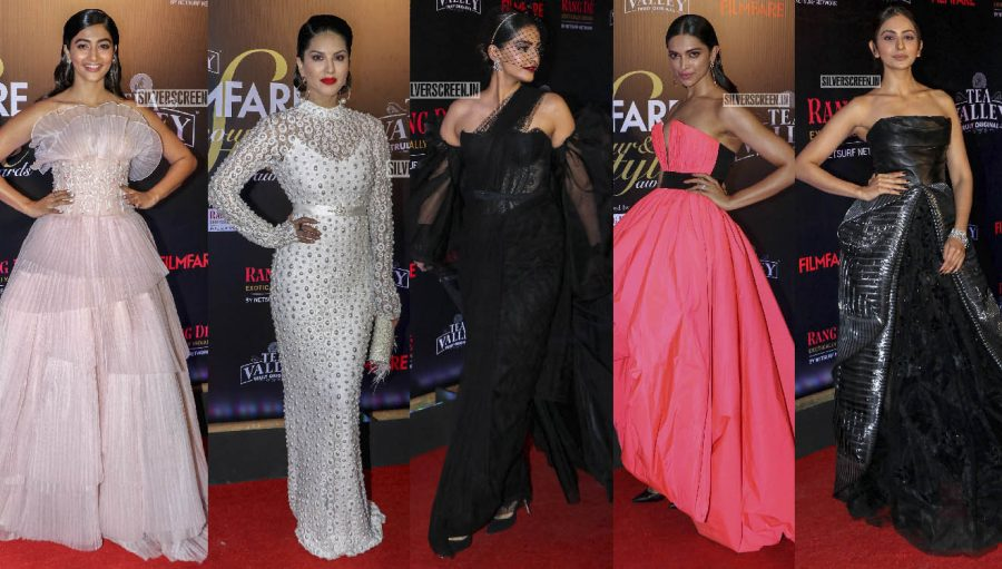 Celebrities At The Filmfare Glamour and Style Awards 2019