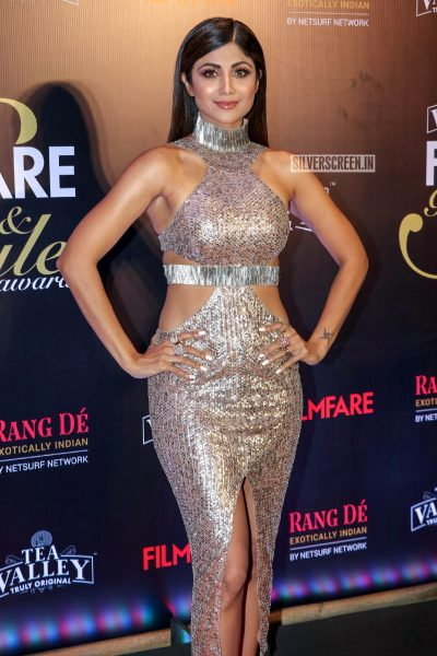 Shilpa Shetty At The Filmfare Glamour and Style Awards 2019