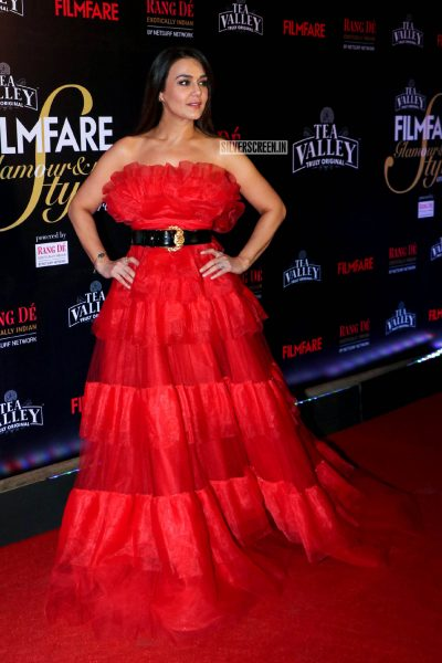 Preity Zinta At The Filmfare Glamour and Style Awards 2019