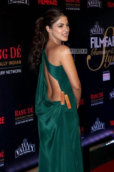 Rhea Chakraborty At The Filmfare Glamour and Style Awards 2019