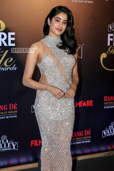 Jhanvi Kapoor At The Filmfare Glamour and Style Awards 2019