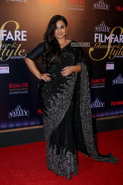 Vidya Balan At The Filmfare Glamour and Style Awards 2019
