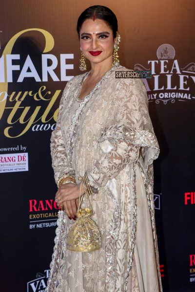 Rekha At The Filmfare Glamour and Style Awards 2019