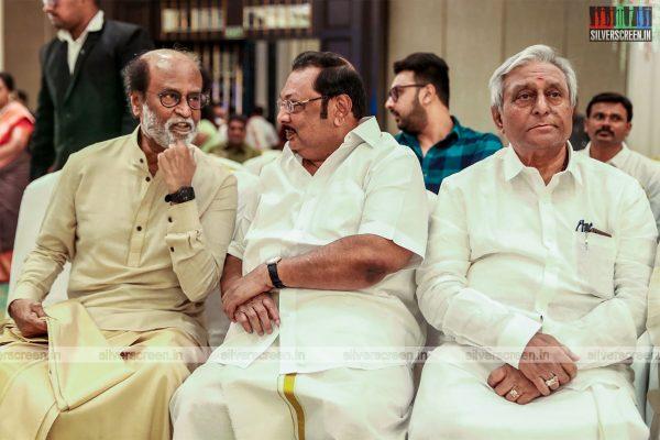 MK Azhagiri At The Vishagan-Soundarya Wedding