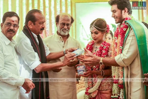 Vaiko At The Vishagan-Soundarya Wedding