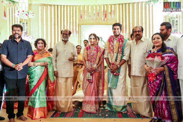 Nakeeran Gopal At The Vishagan-Soundarya Wedding