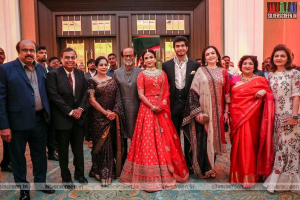 Mukesh Ambani At Vishagan-Soundarya Wedding