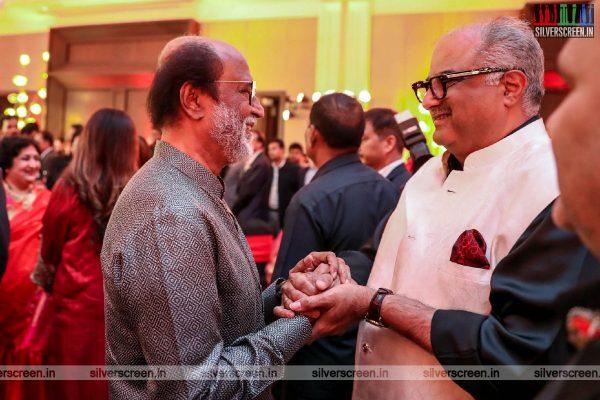 Boney Kapoor At Vishagan-Soundarya Wedding