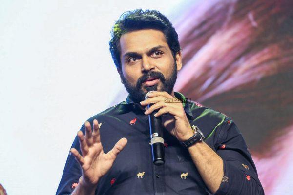 Karthi Sivakumar Promotes 'Dev'