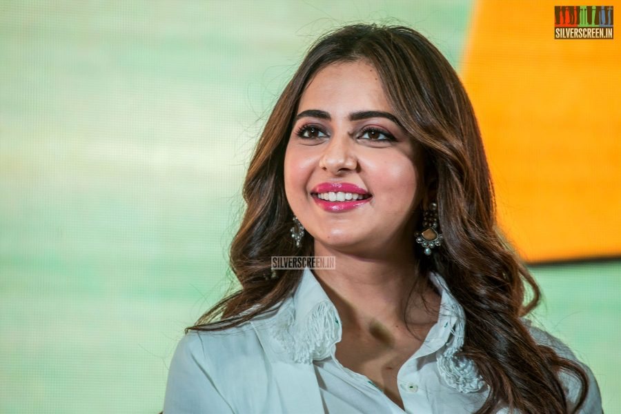 Rakul Preet Singh At The 'Dev' Press Meet