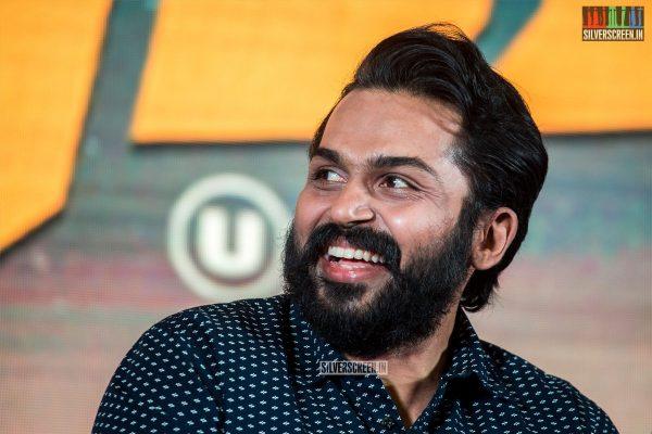 Karthi Sivakumar At The 'Dev' Press Meet