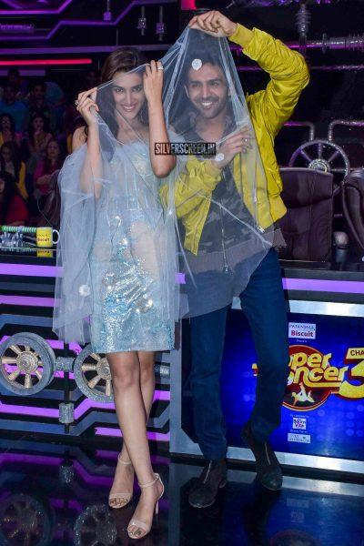 Kartik Aaryan, Kriti Sanon Promote 'Luka Chuppi' On The Sets Of Super Dancer Chapter 3